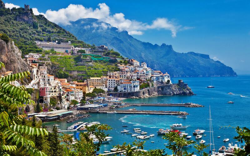 Amalfiküste, Kampanien