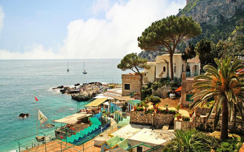 Blick aufs Meer – Insel Capri