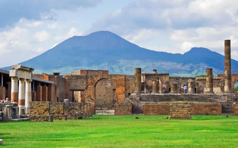 Kampanien: Pompeji und Vesuv
