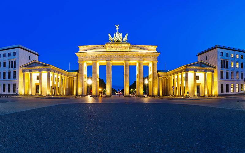 Reiseziel Deutschland, Berlin, Brandenburger Tor