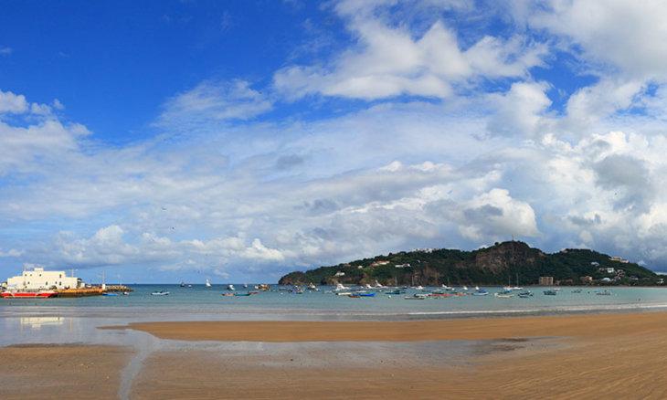 Nicaragua, beach in San Juan del Sur