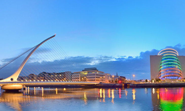 Dublin, Samuel Beckett Bridge