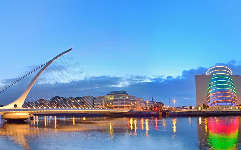 Dublin, Samuel Beckett Bridge
