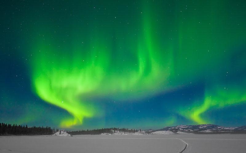 Nordlichter (Aurora borealis)