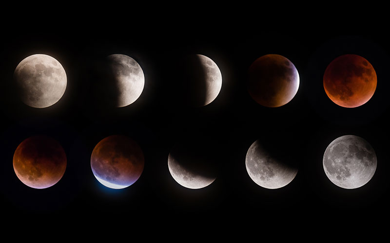 Die längste totale Mondfinsternis des Jahrhunderts