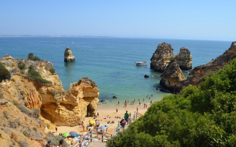 Sandstein in seiner schönsten Form: Die Algarve