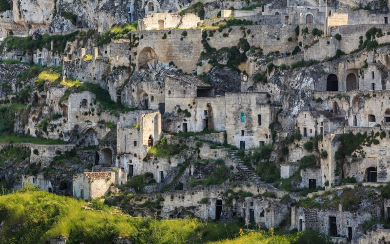 Sassi Höhlenwohnungen