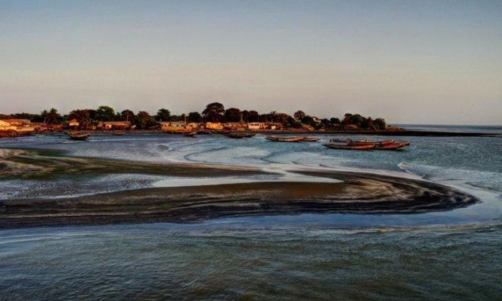 Gambia - Flussmündung