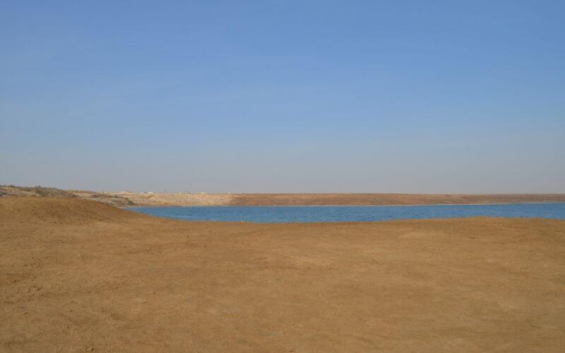 Wüste vorm Totes Meer