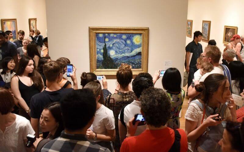 Sternenlicht von Vincent Van Gogh im Museum of Modern Art New York