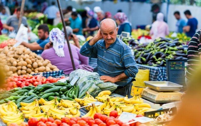 Feriköy Organic Market im Stadtteil Sisli