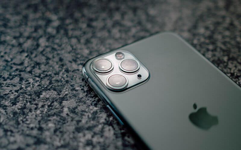 Smartphone als Reisekamera – Rückseite des iPhone 11 pro