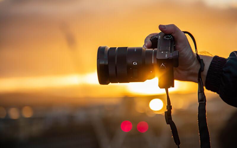 Spiegellose Digitalkamera