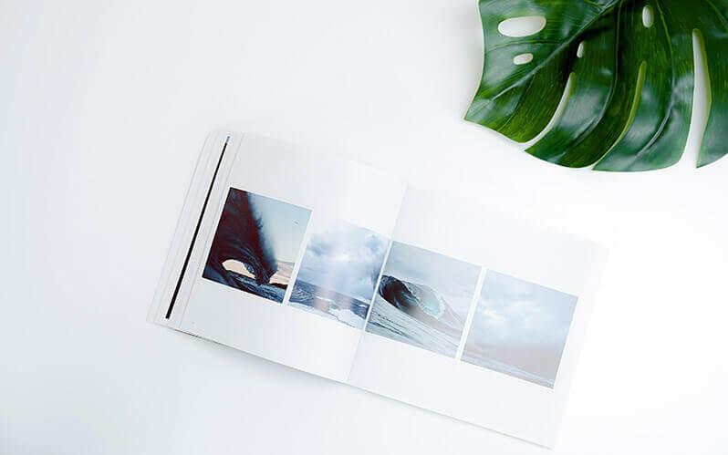 Ein Fotobildband