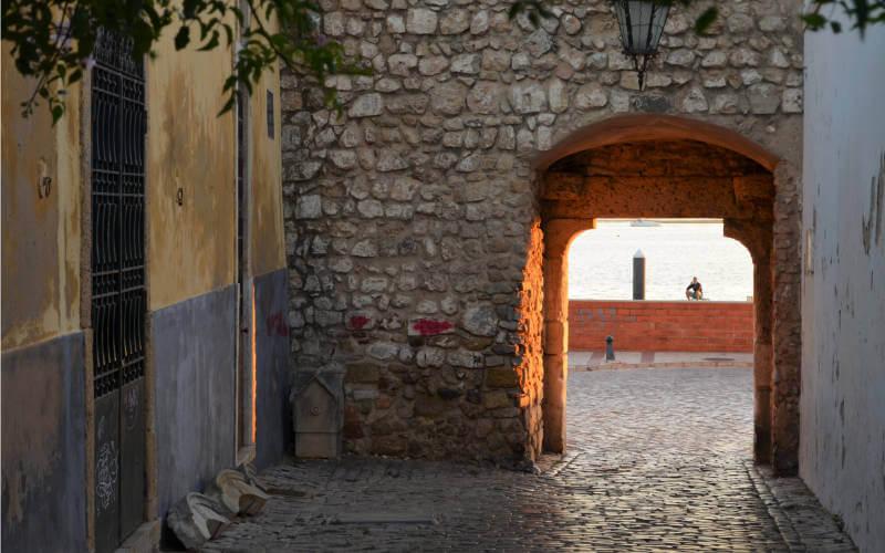 Algarve Faro Stadtmauer