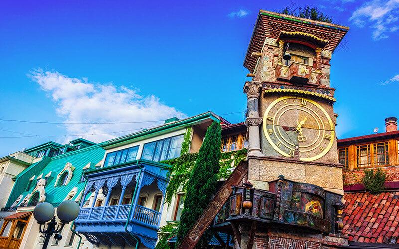 Rezo Gabriadze Marionettentheater von Tbilisi © Depositphoto - Zbigniew Jankowski