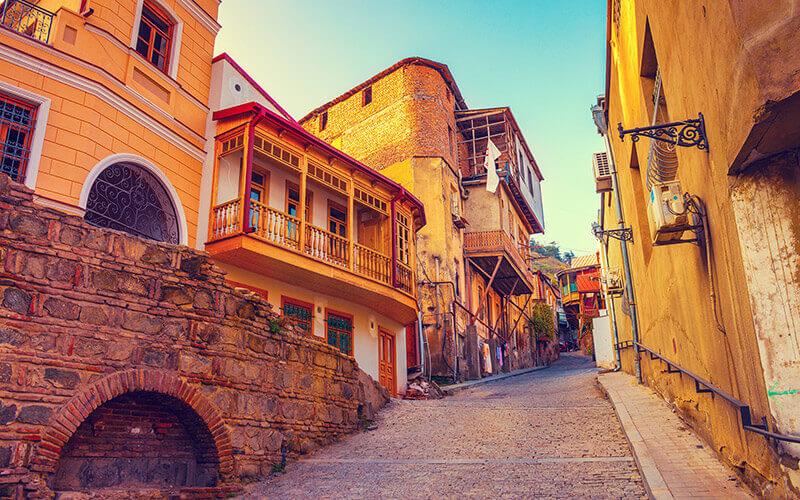 Altstadt von Tbilisi © Depositphoto - Viktoriia Vitkovska